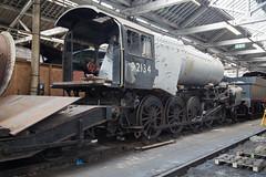 9F 92134 Bury Baron Street Works (daveymills37886) Tags: 9f 92134 bury baron street works elr east lancashire railway