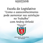 Escola do Legislativo - Palestra