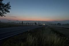 nur ein Hauch (wolf238) Tags: nebel fog abend abendstimmung sonnenuntergang ruhe
