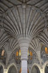 Canadian Parliament (Igor Voller) Tags: canada ottawa parliament architecture column window stone interior grey gray arch ceiling