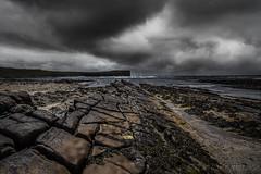 Cliff (EXPLORE) (SkyeWeasel) Tags: scotland orkney orkneymainland birsay marwickhead rocks sky landscape seascape ngc npc