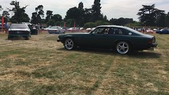 Two bonkers cars: 7.0 twin-supercharged Lister and an AJ-16 powered XJS  on triple Dell'ortos! (Pim Stouten) Tags: xj40com wroxall 2018 jec jag jaguar xjs lister supercharged v12 aj16 video movie clip