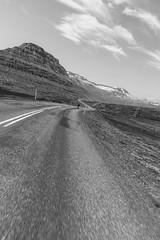 DSC07286 (Guðmundur Róbert) Tags: cycling iceland cube litening agree sony a7ii egilsstaðir eskifjörður nature landscape summer sun sinshine uprise hjól hjólreiðar reiðhjól bjartur hjóla bike biking trip road svefnpokar gjarðir og svart hvítt black white jájá snickers