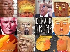 Trump - 12 Grid (Crickett-Grrrl) Tags: trump treason independenceday cartoons politicalcartoons illustrations putinpuppet mob crimes