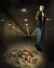 Terror in the Subway (jaci XIII) Tags: metrô terror pessoa homem medo subway man fear person