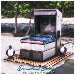 DD Maui Beach Bed Ault & PG (Dreamland Designs) Tags: event ultra beach outdoor adult pg lantern bed