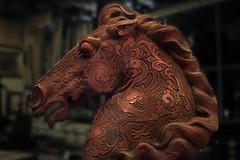 Red Horse (marcello.machelli) Tags: red rosso horse cavallo museoagostinelli curiosità curiosity arte arts museum museo statua tamron nikond810 statue nikon