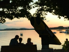 The Sun goes down (buffulutu) Tags: picipo buffulutu 2018 iphone7plus apple sun iphone digital smartphone lake bodensee water lago tramonto
