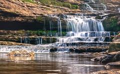 Descubriendo Cantabria (Sol Z.B.) Tags: cascada cantabria agua water laisaje landscape río river