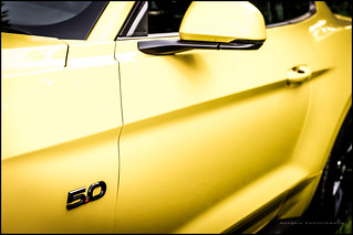 Five litre Mustang V8