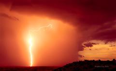 Sunset Strike (slsjourneys) Tags: lightning monsoon arizona sierravista