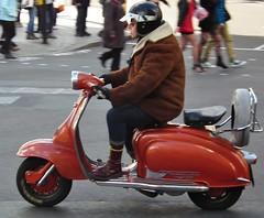 Lambretta TV 175 (donskin) Tags: london uk scooter lambretta red kenjonbro mod england trafalgarsquare tv175 charingcross sw1 fujifilmfinepixhs10 wesminster drmartins docmartins