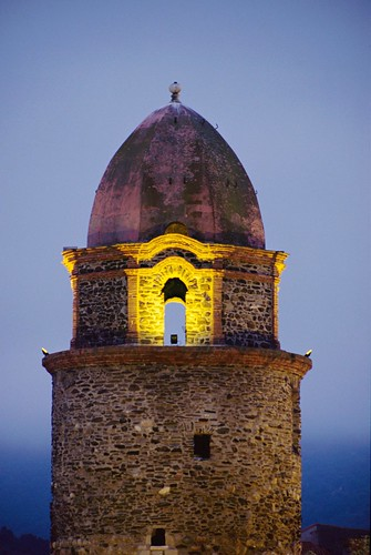 COLLIOURE NOTRE DAME DES ANGES CHURCH BELL TOWER