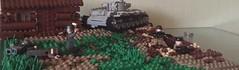 Сitadel operation (cool_studio2282) Tags: lego ww2 kursk july 1943 kv germany soviet moc