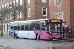 First Potteries 67153 YX66WFL (Will Swain) Tags: hanley bus station 4th april 2018 potteries north west buses transport travel uk britain vehicle vehicles county country england english first 67153 yx66wfl