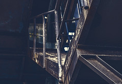 Up The Stairs... (Constantinos_A) Tags: sony alpha a6300 drapetsona machine athens fertilizing factory rust iron pressure old room abandoned industrial decay