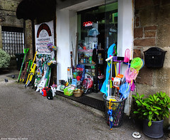 Scotland West Highlands Argyll Inveraray a wee hardware shop 7 July 2018 by Anne MacKay (Anne MacKay images of interest & wonder) Tags: scotland west highlands argyll inveraray hardware shop xs1 7 july 2018 picture by anne mackay