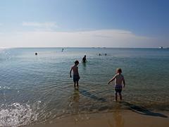 early morning Sandbanks 205/365 (auroradawn61) Tags: sandbanks poole dorset uk england july 2018 beach sea heatwave baking summer