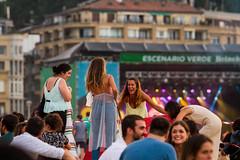 Jazzaldia 2018 (Batix Ezeiza) Tags: jazzaldia donostia hondartza playa zurriola musika música jendea gente entzuleak público