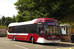 49 Returns! (SRB Photography Edinburgh) Tags: lothian buses bus reburbishment edinburgh thortons volvo 7900 hybrid road transport