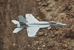 CAG BIRD (Dafydd RJ Phillips) Tags: tophatters 14 strikfitron vfa us navy naval aviation f18 hornet bird cag fighter jet lomoore nas air station canyon star wars jedi transition death valley california super