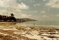 Lowtide At Bahia Honda Bridge (ACEZandEIGHTZ) Tags: bridge span bahiahonda floridakeys monroecounty yashica fx2 lowtide oceanside marathon moser channel florida saariysqualitypictures