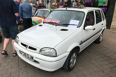 (Sam Tait) Tags: rover metro 100 si injection petrol 5 door 114 psi white 1997 14