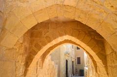 Medieval Arches [Victoria - 27 April 2018] (Doc. Ing.) Tags: 2018 malta gozo victoria cittadella fortification rabat citadel ilbeltvictoria arch