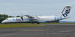 G-ECOG FLYBE DASH 8 NEWCASTLE (toowoomba surfer) Tags: flybe airline airliner aviation aircraft ncl