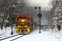 April in Pennsylvania... (Eric_Freas) Tags: buffalo pittsburgh railroad bprr baltimore ohio bo brp mount jewett pennsylvania color position light cpl xcoal xbfsi