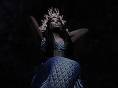 Inaê (flor.leonisilva) Tags: orixá yemanja inae sereia mermaid negra mulher black brasil woman sl secondlife brazil dark lua mistérios profundezas