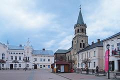 Sanok, Poland 10/04/2018 (Gary S. Crutchley) Tags: sanok southern south poland polski history heritage east eastern europe travel olympus epl1 river san
