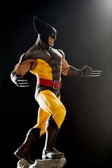 Wolverine   Statue   Bowen Designs (leadin2) Tags: canon 2018 sideshow collectibles wolverine logan bronze statue custom painted xmen marvel comics cold cast classics