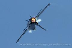 0947 Belgian F16 (photozone72) Tags: aviation airshows aircraft airshow yeovilton yeoviltonairday jets canon canon7dmk2 canon100400f4556lii 7dmk2 belgianairforce belgian f16