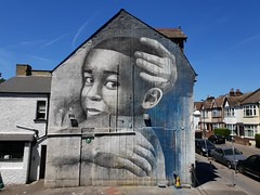 Street art Thornton Heath, London (DJLeekee) Tags: streetart graffiti thorntonheath markmclure mark mcclure benslow south london