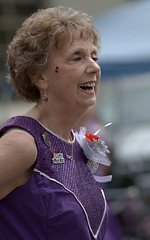 Baton Twirler (Scott 97006) Tags: parade woman senior twirler baton outfit performance lady