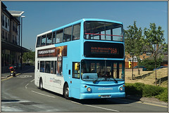 NXC 4222, Kynner Way (Jason 87030) Tags: shopping village centre shops retail trident dennis alx400 4222 nxc nationalexpresscoventry y831toh 2018 hot sunny weather work route 16a service doubledecker skyblue warwickshire midlands coventry place location uk england livery kynnerway shot shoot session