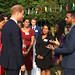 HRH The Duke of Sussex and Darrion Narine at the reception