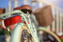Bike Ride... (KissThePixel) Tags: bike bikeride pedalbike pedal bicycle wheel basket bokeh pushbike vintagebike greenbike mybike freedom journey summer macro dof dofalicious depthoffield happiness happy nikon nikond750