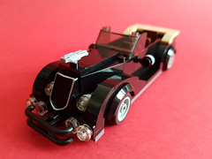 Black Limousine (x_BLOCKER_x) Tags: lego car 30s 1930 moc décapotable voiture