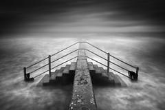 Troubled Waters (TS446Photo) Tags: coast wave sea steps storm weather tone lpoty longexposure fineart artist