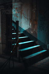 ghost (ewitsoe) Tags: canoneos6dii city street warszawa erikwitsoe summer warsaw stairs staircase window reflection urban ghost canon 50m 50mm