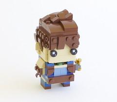 brickheadz rex (quý) Tags: lego brickheadz video game rpg xenoblade chronicles characters figure instructions chibi
