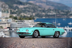 Lamborghini 350 GT Mint Cookie (nike_747Original) Tags: naksphotographydsign lamborghini 350 gt mint cookie grand tourer coupe roadster cabrio convertible carrozzeria touring italy italian bull v12 v 12 supercar hypercar super hyper car sportscar sport class exotic rare luxury color auto limited edition retro classic museumonwheels gtv prototype typeclassic yacht boats sea town port dock harbor haven tiffanyblue ocean blue carbon fiber aluminium spike rims
