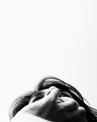FaceTime (.Betina.) Tags: monochrome mood mono moody portrait portraiture son boy blackandwhite betinalaplante bb
