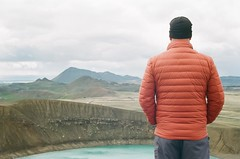 Iceland (Alison Bean) Tags: canona1 analog vacation travel film shootfilmstaybroke istillshootfilm nograinnoglory analogforever filmphotography 35mm keepfilmalive filmisnotdead iceland crater