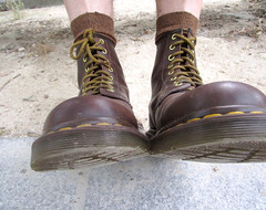 DrMartens1460Brown7 (Perlimplim) Tags: 1460 brown drmartens