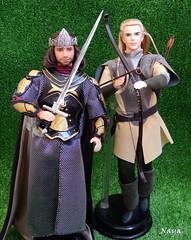 DSCN8680_1 (Naya_alica) Tags: ken doll legolas lord rings fellowship aragorn barbie