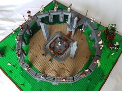 60 (Lub3e) Tags: lego moc britannia tvseries druids cantii romans amberpalace ritual diorama stone circle