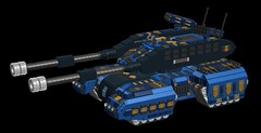 o12 moose homing tank1 (demitriusgaouette9991) Tags: lego military army ldd armored powerful missile vehicle cannon tank turret deadly railgun